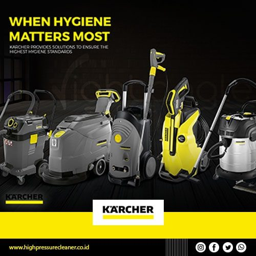 Vacuum Cleaner Karcher - high pressure cleaner-min