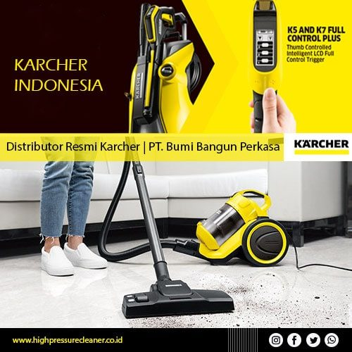 distributor karcher indonesia - high pressure cleaner-min